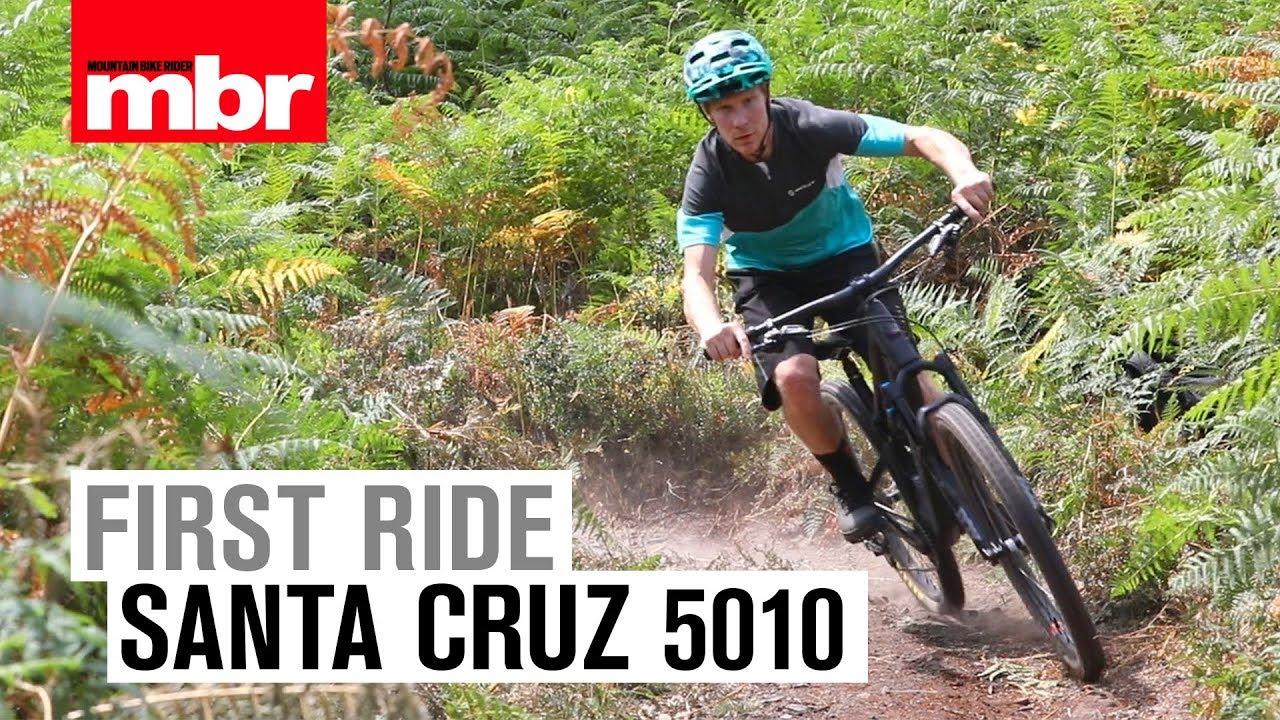 Santa Cruz 5010 | First Ride | Mountain Bike Rider