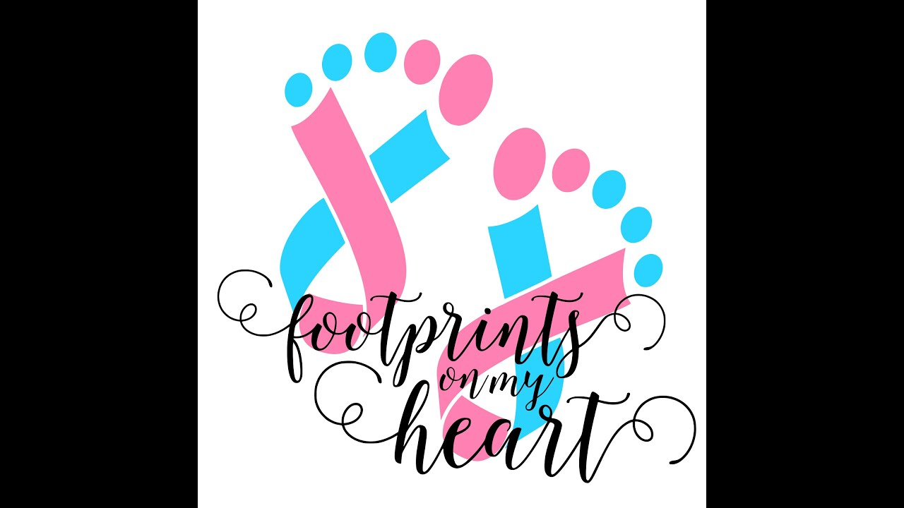 Greatest Pregnancy And Infant Loss Awareness   Footprints On My Heart - YouTube AH14