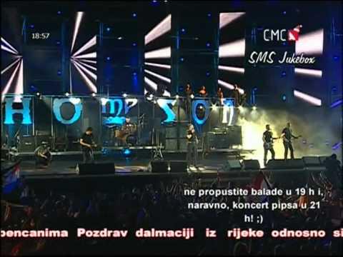 M.P.Thomson-Sine moj (live)