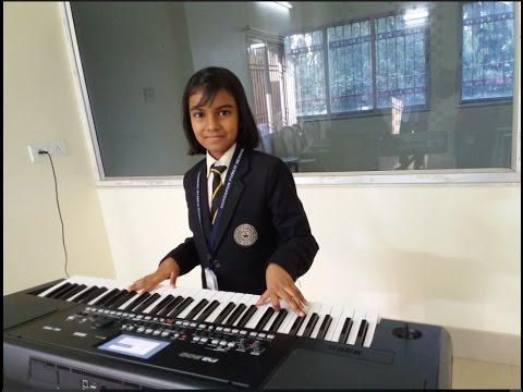 Pran Chay Chokkhu Na Chay ( Rabindra Sangeet) on keyboard by Tathoi