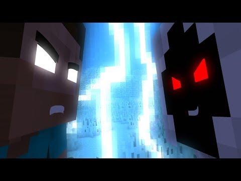 Herobrine  Vs Entity 303 - Minecraft Fight Animation