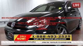 Used 2013 VOLKSWAGEN GTI DRIVER
