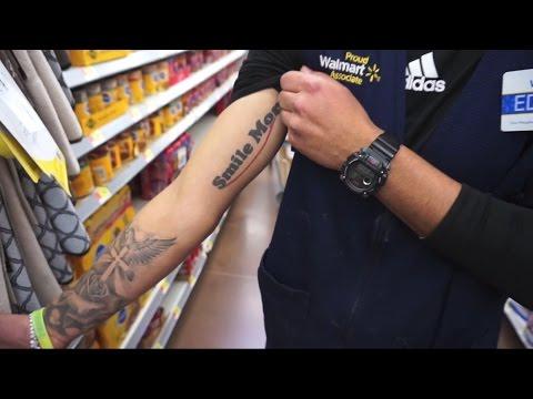 Romanatwood smile more tattoo youtube for Smile more tattoo
