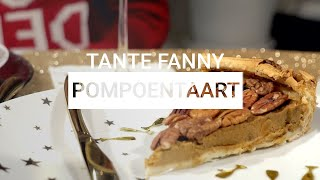 Tante Fanny Pompoentaart | Christmas Edition