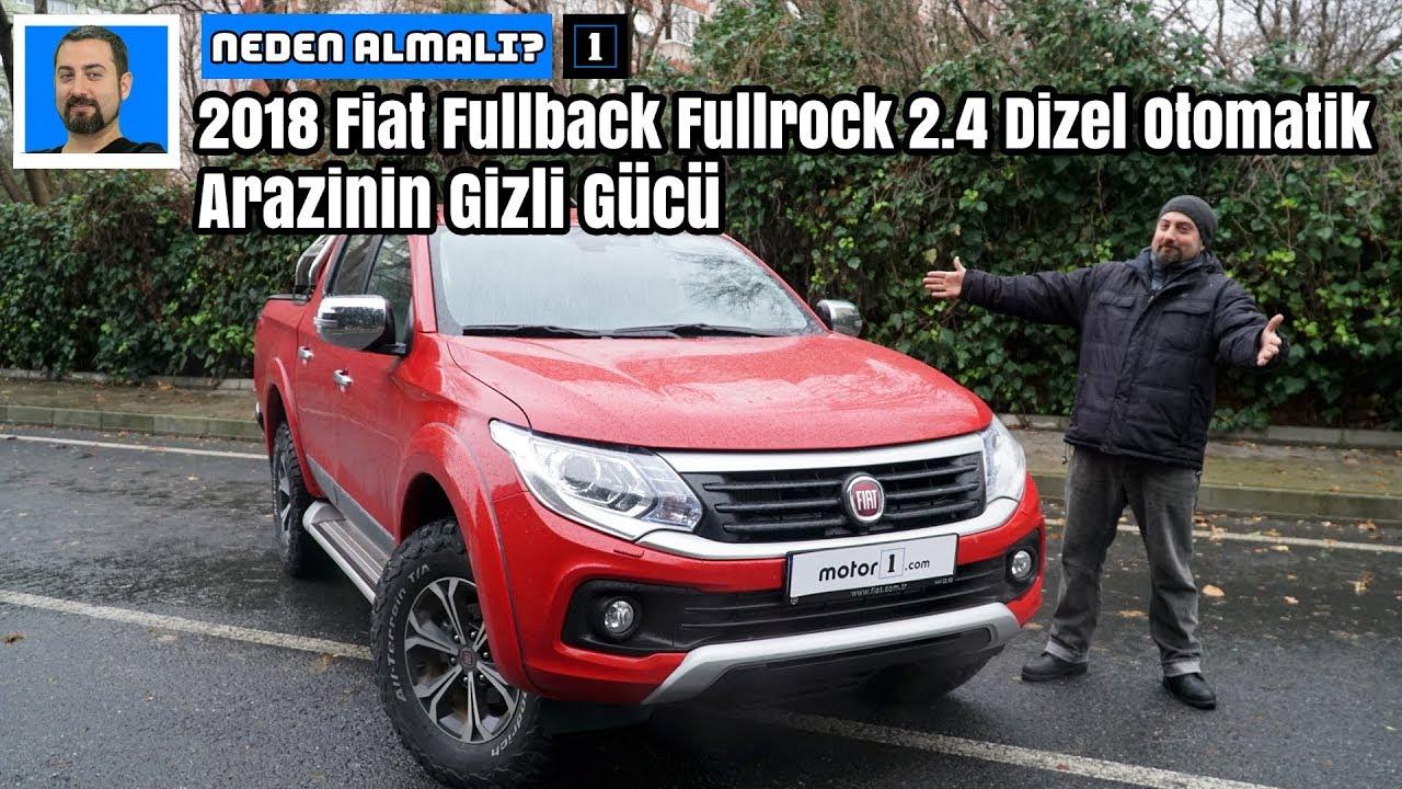 2018 Fiat Fullback Fullrock 24 Dizel Otomatik Arazinin Gizli Gücü