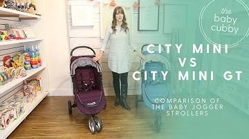 Baby Jogger City Mini vs City Mini GT