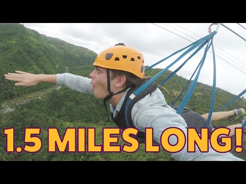 Jenn - The Longest Zipline in the Americas!
