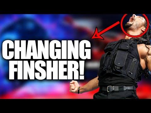 Roman Reigns Changing Finsiher! Best Alternative Finisher For Roman Reigns!