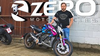 Zero SRF Electric Motorcycle Review - First Ride - Zero's Battery Powered Sport Naked
