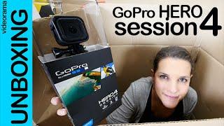 GoPro Hero 4 Session unboxing en español Video