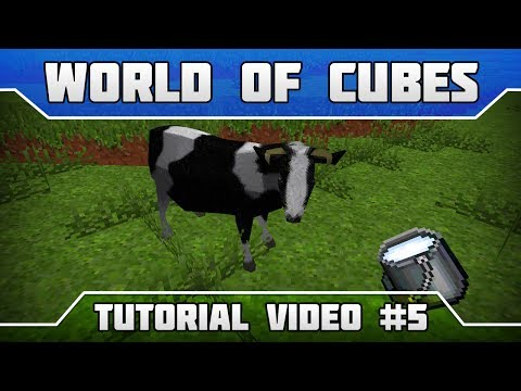 WoC Tutorials: How to get milk from cows?