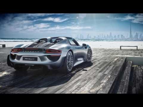 Making of - Porsche Spyder 918 via CGI