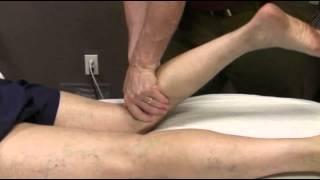 Treatment of Leg, Knee and Foot Conditions - Prone Popliteus, Plantaris