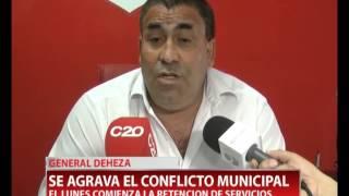 RUBEN QUEVEDO - GENERAL DEHEZA - SE AGRAVA CONFLICTO MUNICIPAL