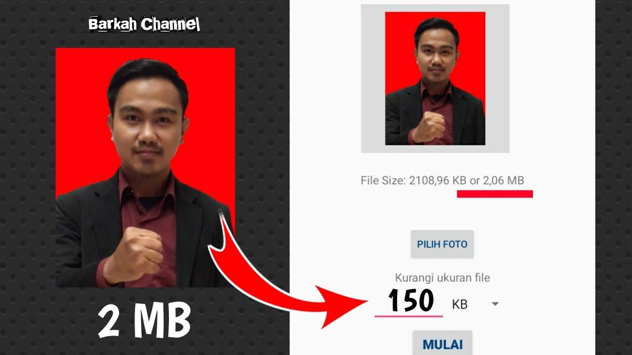 Cara Mengecilkan Ukuran Foto 2mb Jadi 200kb Youtube