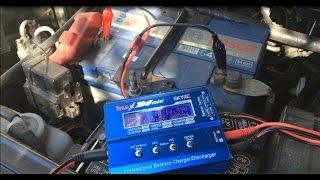 Зарядка автомобильного аккумулятора с помощью iMax B6 mini, чем запитать. Часть 1 - другое зарядное.(, 2016-08-27T17:35:25.000Z)