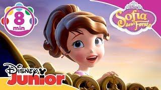 Sofia den Første | Musikmedley! 🎶- Disney Junior Danmark