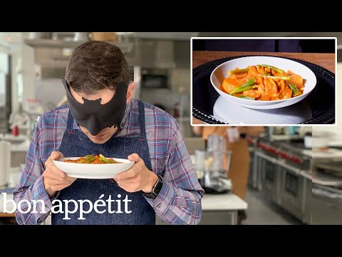 Recreating Maangchi's Dakbokkeumtang (Spicy Braised Chicken) From Taste | Bon Appétit