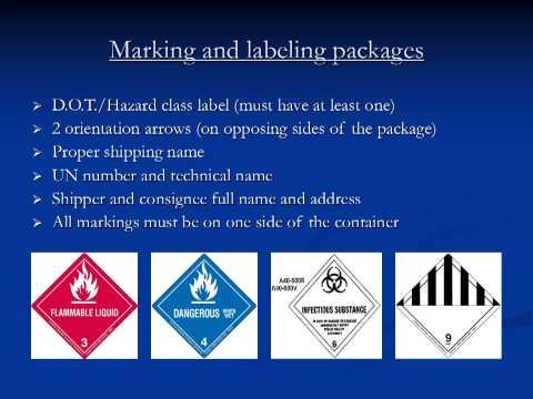 Safety Training - DOT/IATA Recertification (Shipping Dangerous Goods)