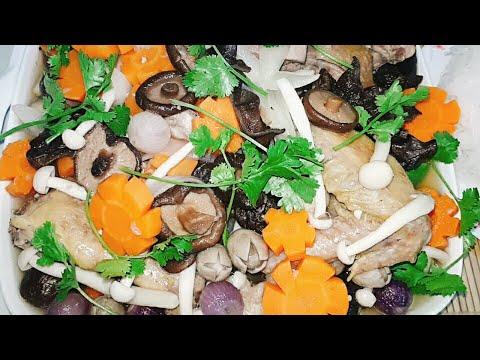 Cách Làm Gà Nấu Nấm Ngon Nhất #Make Delicious Chicken With Multiple Mushrooms#Huongvimiendong #T63