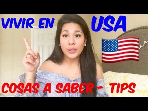 Vivir En Estados Unidos ,cosas Que Tienes Que Saber De USA ,TIPS