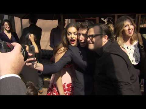 Goosebumps Premiere After Party - Jack Black, Odeya Rush, Halston Sage, Dylan Minnette, Ryan Lee
