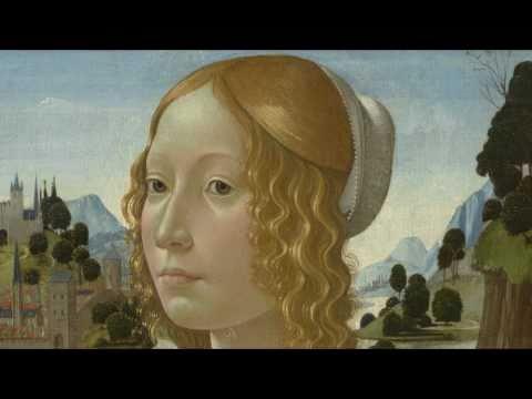 Domenico Ghirlandaio, Portrait of a Lady, c. 1490