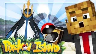 EMPOLEAN HUGE CATCH - Minecraft PIXELMON ISLAND #2
