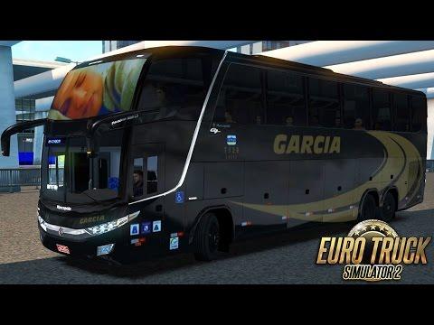 Euro Truck Simulator 2 - Mod Bus   Garcia - São Paulo/Curitiba - G27