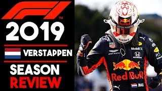 Max Verstappen F1 2019 Season Review