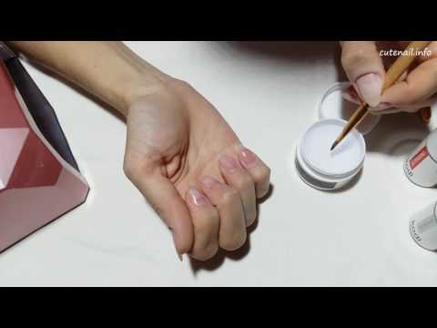 Свои ногти покрыть гелем