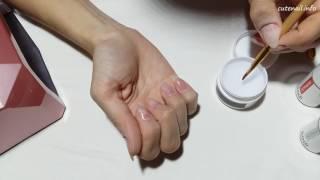 Покрытие ногтей гелем в домашних условиях