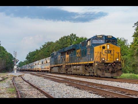 (HD) Railfanning along the Gulf Coast of Mexico's CSX NO&M Subdivision.