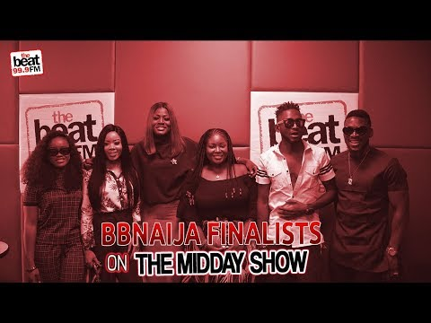 BB Naija 2018 Finalists Stop By The Midday Show; Alex Takes On Nina!!