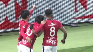 3月10日に行われた、明治安田生命J1リーグ 第3節 浦和vs甲府のハイラ...