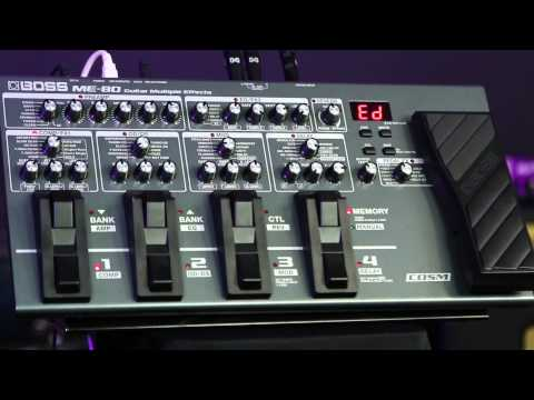 BOSS ME-80 Classic Patches Explained -
