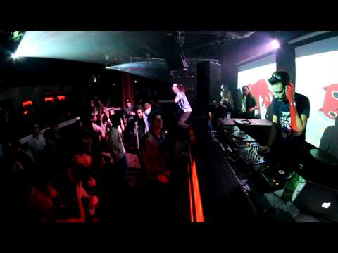 "Delta Heavy ""Hold Me"" Live at the Spiritbar Nelson BC Bassbizinz DJ VIBE"