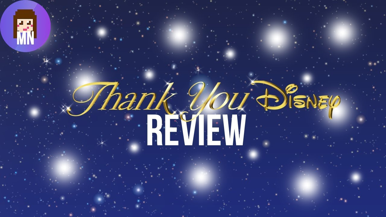 thank you disney album review youtube
