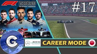 Let's Play F1 2018 Career Mode   Mercedes Career #17   WHEN TEAMMATES COLLIDE!