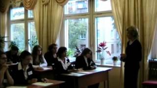 Урок английского языка, 11 класс, Спыгина_Т.В., 2009