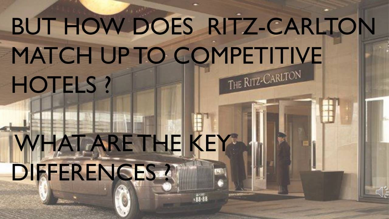 video case study quality at the ritz carlton hotel company The ritz-carlton hotel company embarked on a three year program centered on click here to download a pdf version of this case study  photos infographics videos.