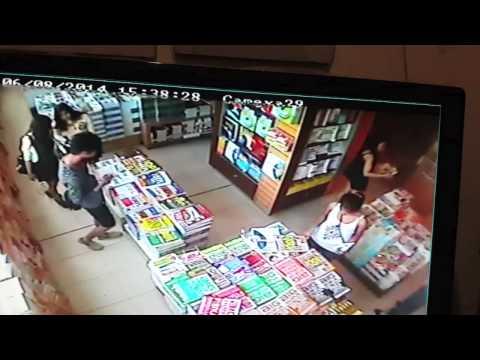 maling di toko buku