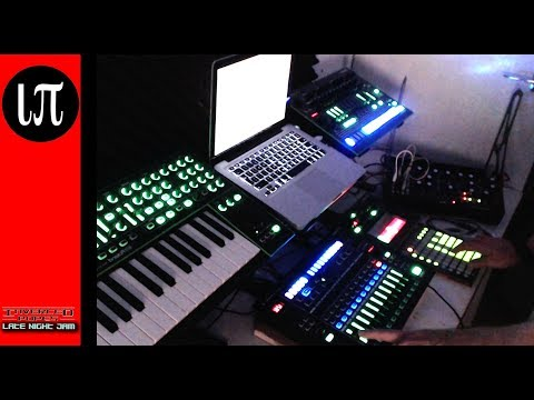003 || moog mother 32 system-1 || enter your passcode || inverted-popes live