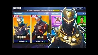 SKIN REVIEW Oblivion and Terminus! Review and Analysis *Fortnite Battle Royale*