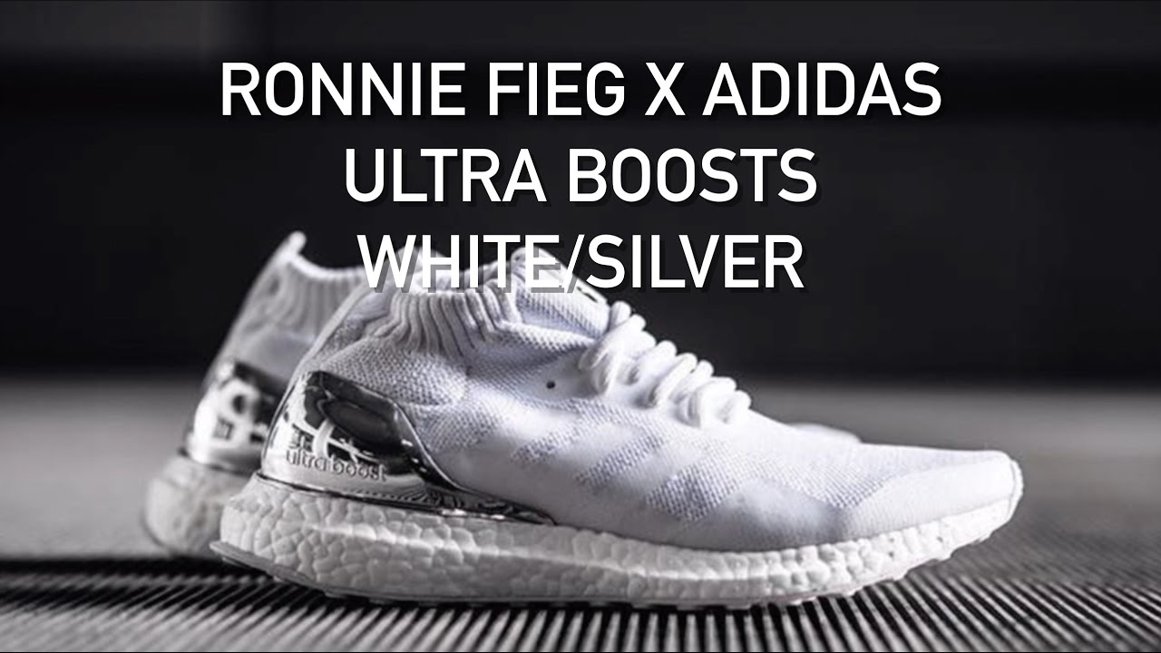 timeless design 20436 e07ac Ronnie Fieg x Adidas Ultra Boost White Chrome   First Look   Ultra Boost Mid  Top