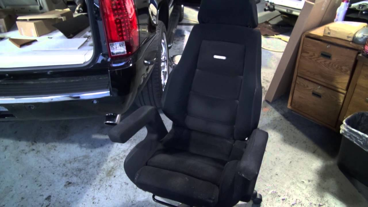 recaro office chair height right recovering and restoration by cooks upholstery redwood city