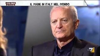 EFFETTO DOMINO 2020 12/05/11 - Santo Versace, il made in Italy nel mondo