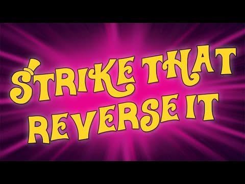 Strike That Reverse It karaoke instrumental backing track