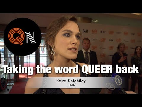 Keira Knightley on taking back the word Queer during Colette's TIFF Red Carpet  QN