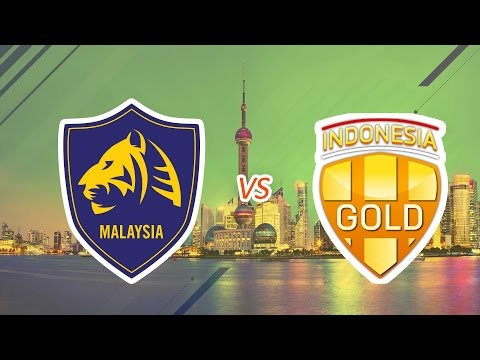 [23.07.2016] Malaysia Tigers vs Indonesia Gold [EACC 2016]